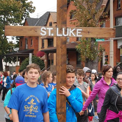 "On October 15, we ""Walk with Christ"""
