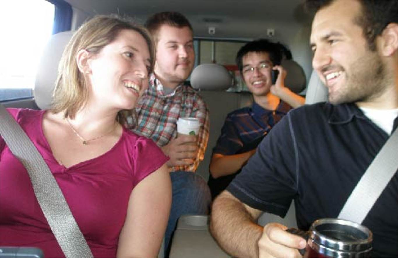 February 5-11 is Carpooling Week