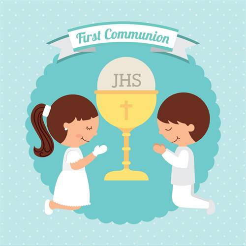 First Communion 1pm
